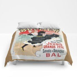 Bullier French dance hall days Comforters