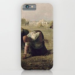 The Gleaners - Millet iPhone Case