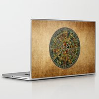 calendar Laptop & iPad Skins featuring Ancient Calendar by Klara Acel