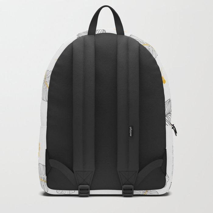 Leaves Pattern Backpack