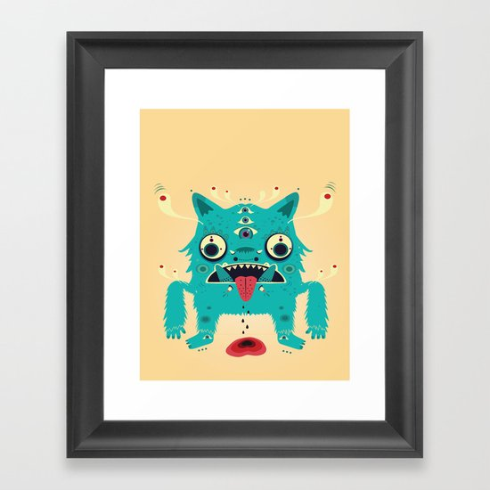 Creature n0#33 Framed Art Print