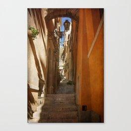 Textured Alleyway Canvas Print