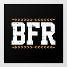 BFR Canvas Print