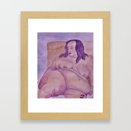 Unapologetically Yours Framed Art Print
