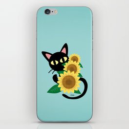 Whim with Sunflower iPhone Skin
