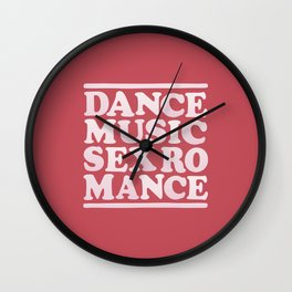 DMSR 01 Wall Clock