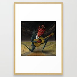 The Devils Muse Framed Art Print