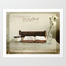 Study His Word Art Print