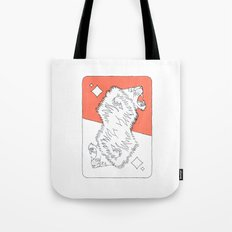 Lion Card Tote Bag
