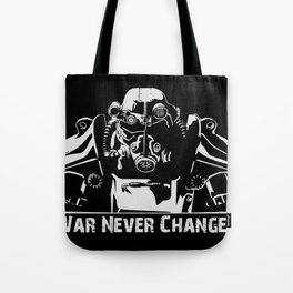Fallout 3 War Never Changes Tote Bag