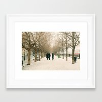 montreal Framed Art Prints featuring Montreal by sarahscamera