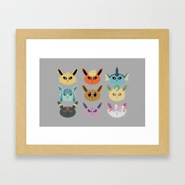 The Silly Beasts Framed Art Print