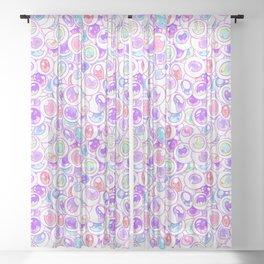 Kawaii Balls Sheer Curtain