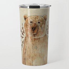 Brown Bear Travel Mug