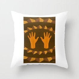 The ASL Marquetry - (ASL Marquetry Series) Throw Pillow