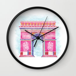 Inspirational Arc de Triomphe Wall Clock