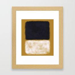 Rothko Inspired #10 Framed Art Print