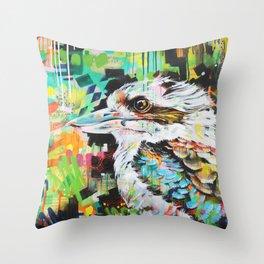 Serious Business [Kookaburra] Throw Pillow