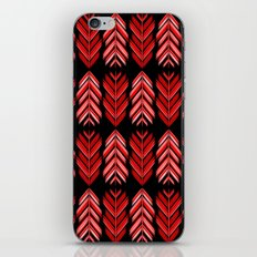 Red feathers iPhone & iPod Skin