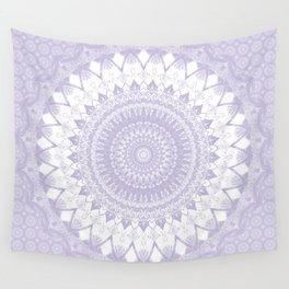Boho Pastel Purple Mandala Wall Tapestry