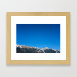 Mountains of Austria Framed Art Print