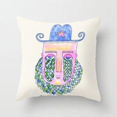 Sea Sheriff Throw Pillow