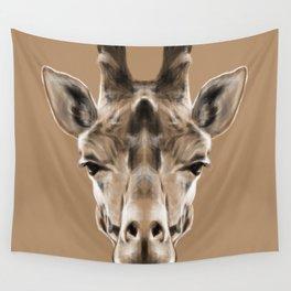 Giraffe Sym Wall Tapestry