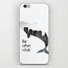 The Urban Whale iPhone & iPod Skin