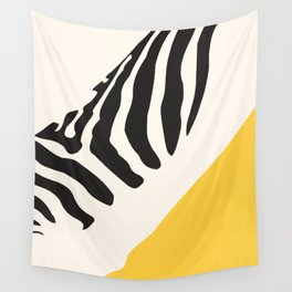 Zebra Abstract Wall Tapestry
