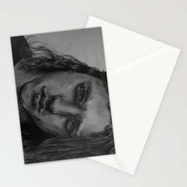 Chuck Schuldiner Drawing Stationery Cards