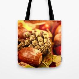 Arbores autumnales effectu Tote Bag