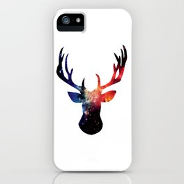 Cosmic Stag Moose iPhone Case