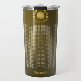 To Clap, or Not To Clap for Trump? Travel Mug