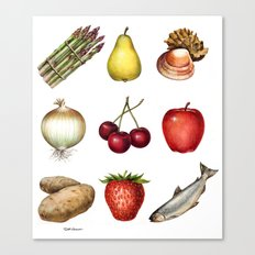 Some Food Canvas Print
