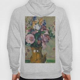 """Paul Cezanne """"Vase of Flowers"""" Hoody"""