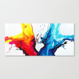 Abstract Art Britto - QB292 Art Print Canvas Print