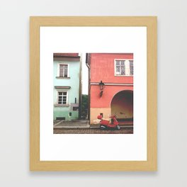 Next to the palace Framed Art Print
