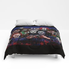 Horror Villains Selfie Comforters