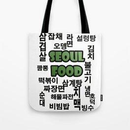 Seoul Food Tote Bag