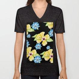Floral Mood IIII Unisex V-Neck