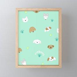 Pup Mom Framed Mini Art Print