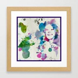 A piece of my (he)art Framed Art Print