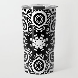 Polynesian style mandala tattoo 2 Travel Mug