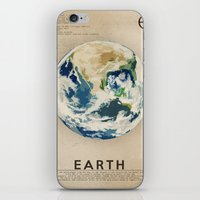 earth iPhone & iPod Skins featuring Earth by Heather Landis