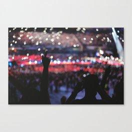 Concert in San Siro Canvas Print