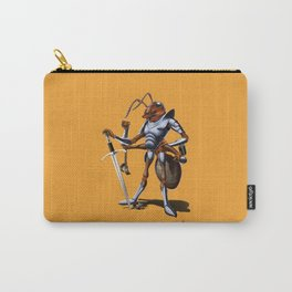 Soldiering On (colour) Carry-All Pouch