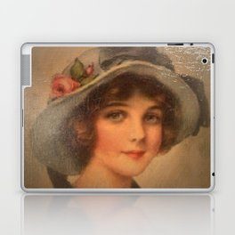 Vintage Lady 02 Laptop & iPad Skin