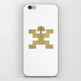Pectoral Pre-Columbian Gold Piece iPhone Skin