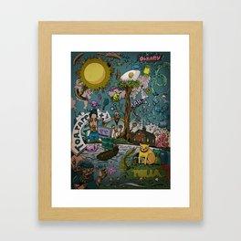 Toapapper Framed Art Print