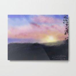 Broadchurch Sunrise Metal Print